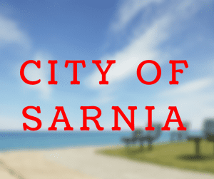 City of Sarnia with Waterfront Photo