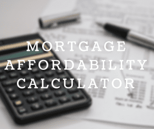 Ontario Mortgage Affordability Calculator with workdesk photo